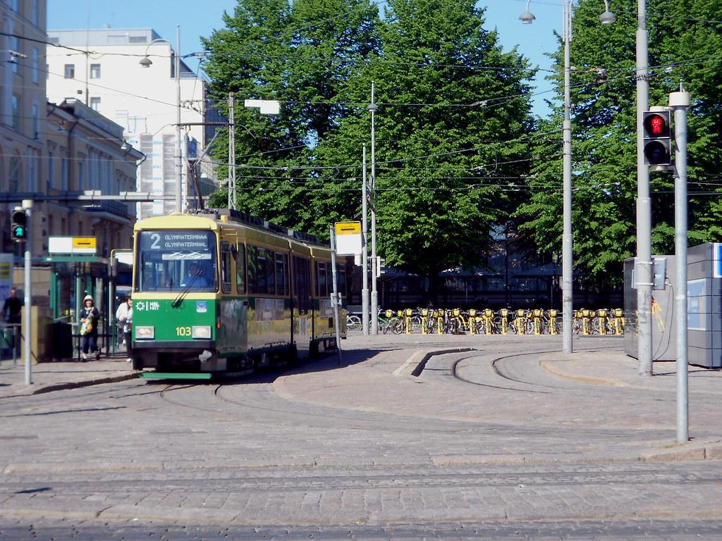 Хельсинки. Рыночная площадь.