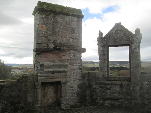 Huntly Castle Top