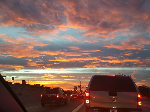 friday sunset taillights work drivehome