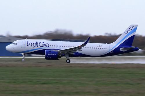 Airbus A320-271N IndiGo VT-IZM / F-WWBV | by herpeux_nicolas