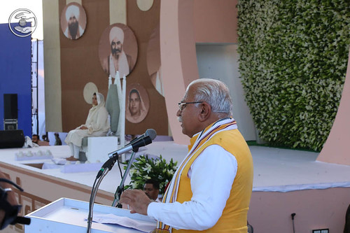 Haryana CM Manohar Lal Khattar presided the congregation