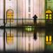 Reflections on Salt Lake by Thomas Hawk