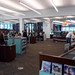 Interior of Middleburg Heights Branch. In July 2018, State Librarian Beverly Cain, State Library Board President Krista Taracuk, and Bill Morris visited the Cuyahoga County Public Library.  they toured the Parma-Snow Branch, Middleburg Heights Branch, and the Maple Heights Branch on this visit.