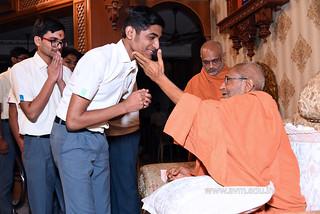Std-10-11-12-visit-to-Haridham-for-Swamishree's-Blessings-(70) | by Atmiya Vidya Mandir