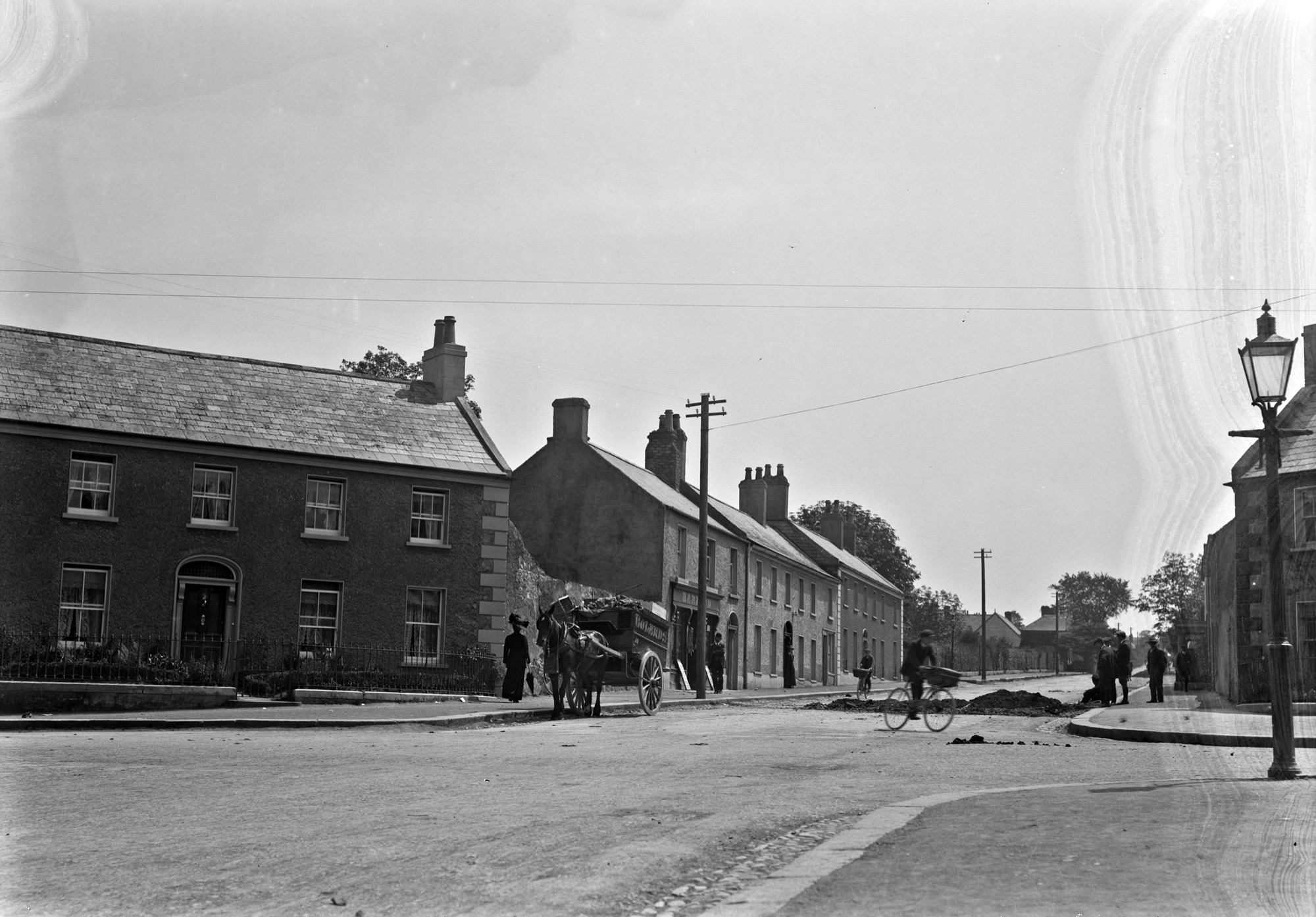 Possibly a general view of Malahide, Co. Dublin