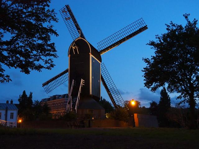 Molen in Leiden.