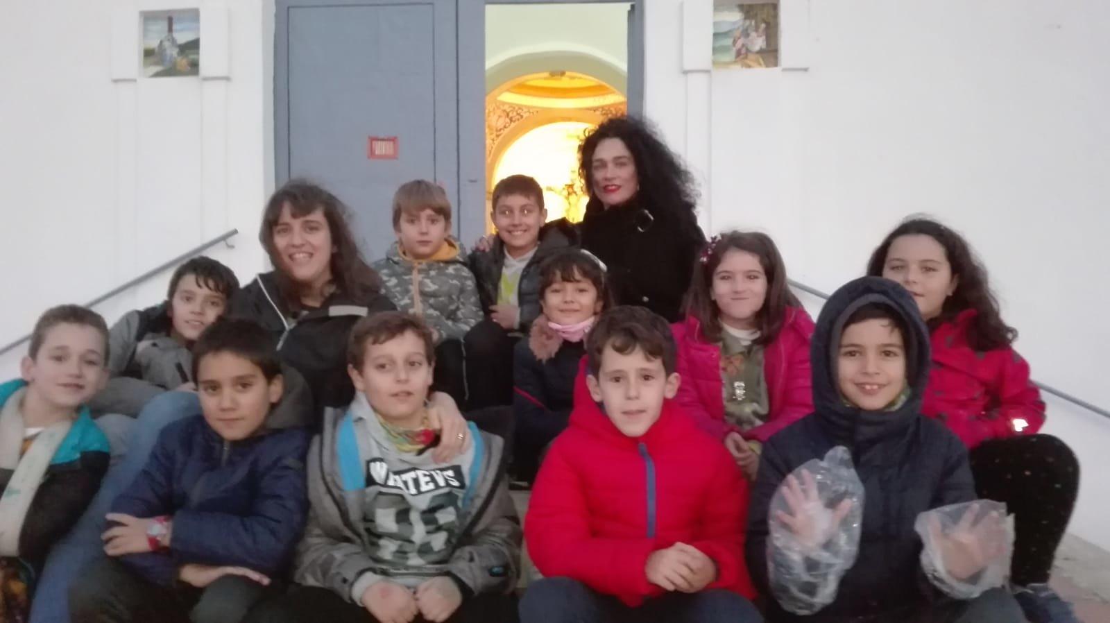 (2018-11-23) - Visita ermita  Esther-Maria Mercedes,2º,Catequesis - Vicente Rico (11)
