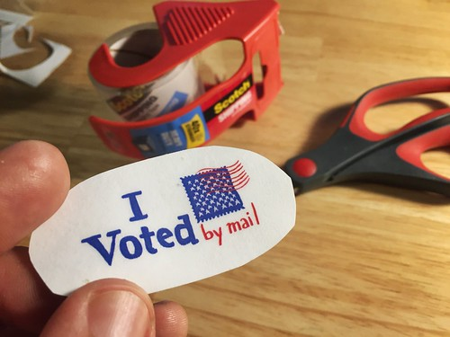 DIY I voted by mail | by docpop