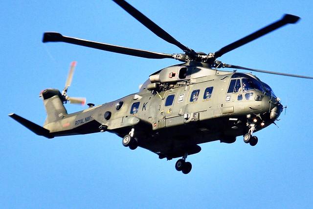 ZJ126 'K' : AgustaWestland EH101 Merlin HC3  : RN