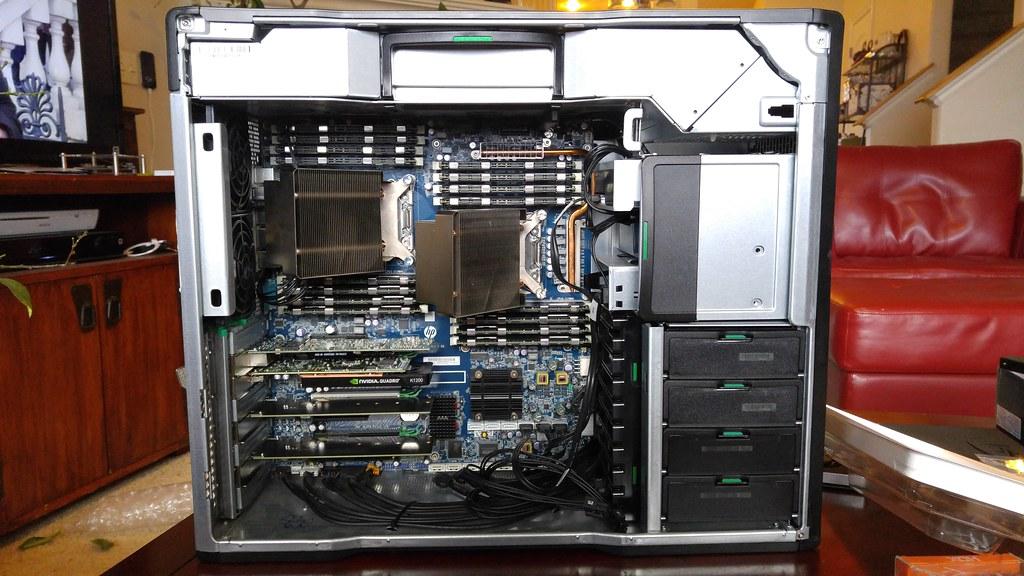 HP Z820 Workstation Upgrades [20170219_171151] | Andy Melton