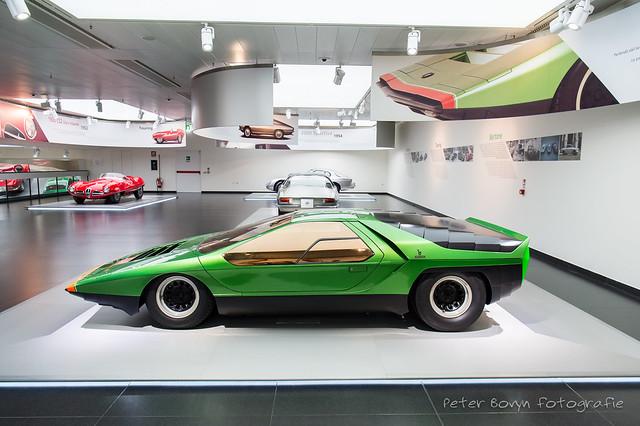 Alfa-Romeo Carabo Concept - 1968