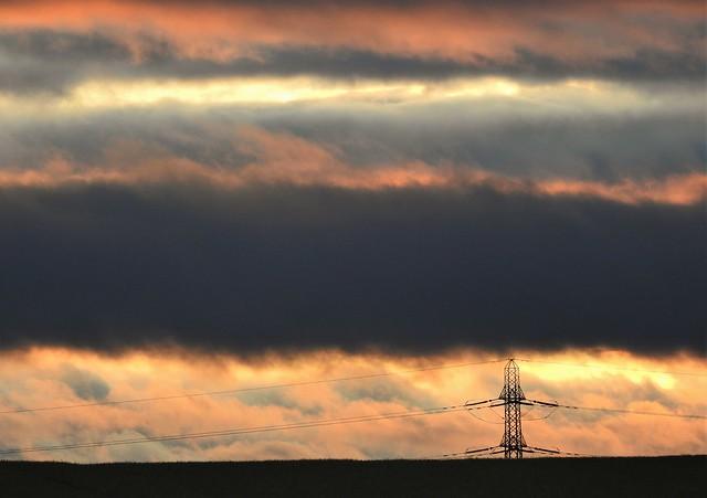 Pylon Layered Sunset