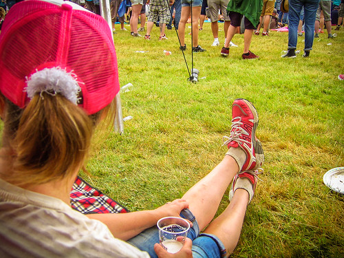 Pink Cap, Pink Shoes, Pinkpop