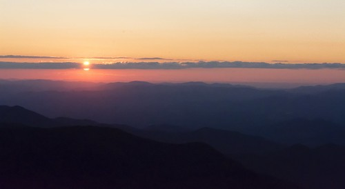 sunset mountains gardens evening craggy parkway blueridgeparkway nightfall nikond7100