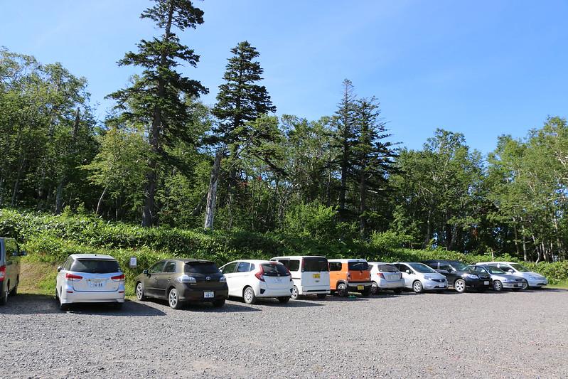 清岳荘 駐車場