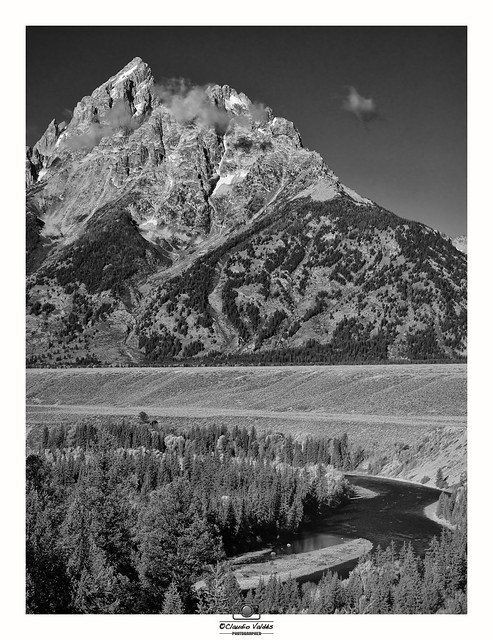 The Grand Tetons and the Snake River -
