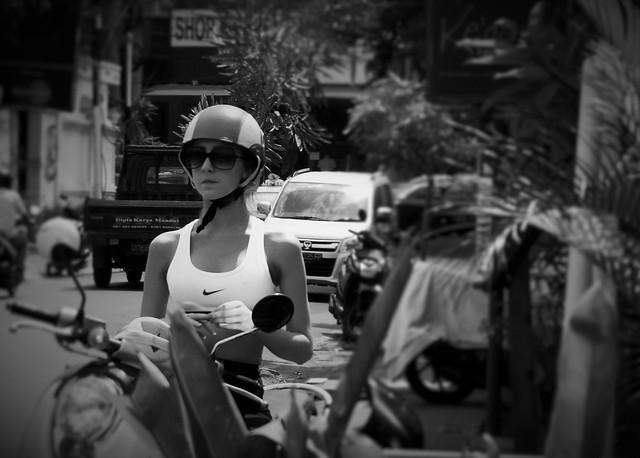 Bali biker