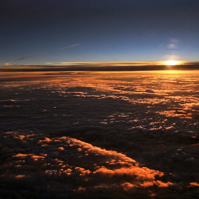 Tropospheric sunrise