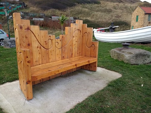 Richard Baker Bench, Skinningrove | by twiggles