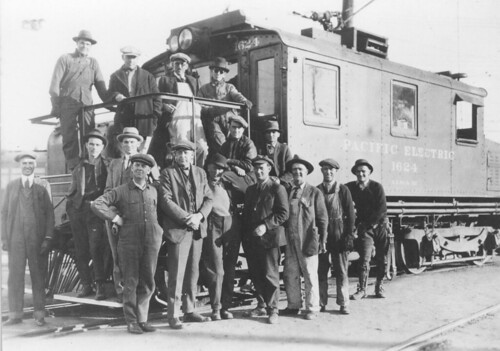 Workers w-1624 pose at Torrance Shops c. 25 | by Metro Transportation Library and Archive