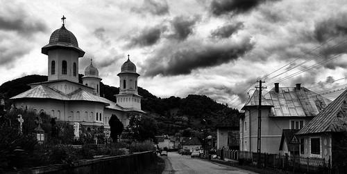 rumänien kirche biserica blackwhite schwarzweiss bistritanasaud