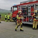 Feuerwehrübung Grosshöchstetten 2018