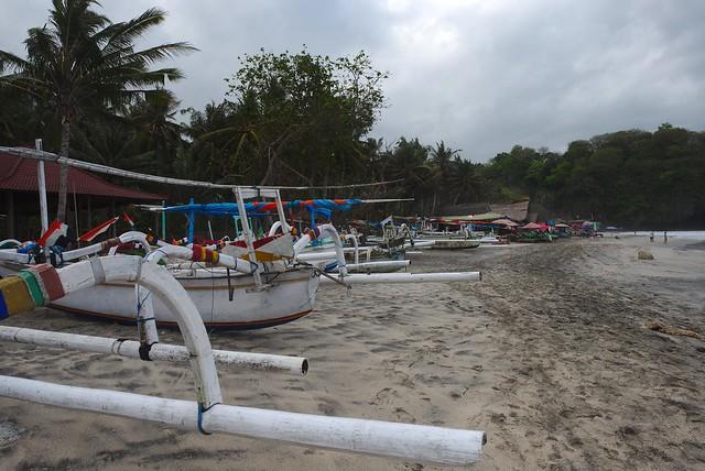 Plage de White sand - Bali - Indonésie