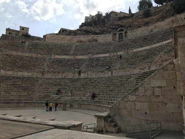 The Roman Theather, Amman, Jordan.