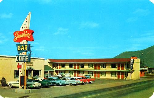 Sunshine Motel Kellogg ID | by Edge and corner wear