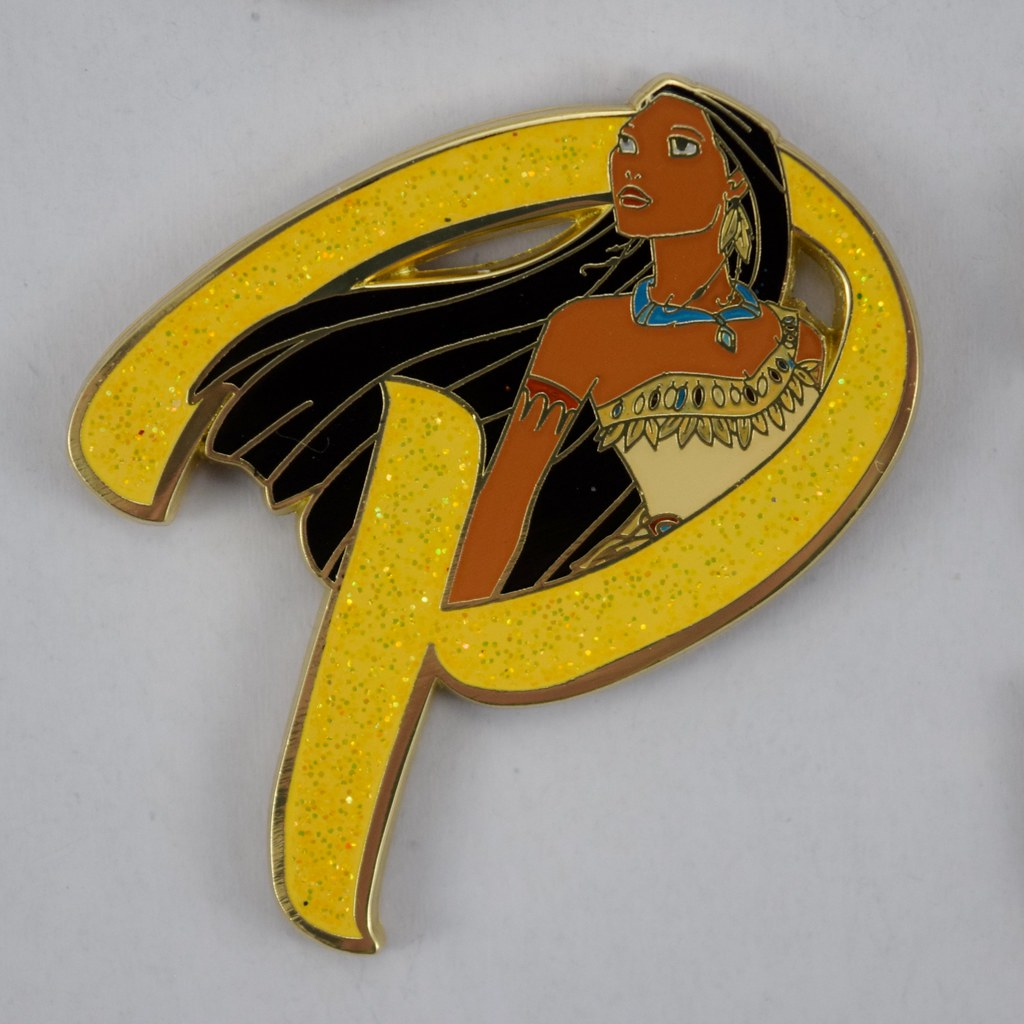 779913f9 ... Disney Princess Letters Mystery Pin Collection - Disneyland Purchase -  Pocahontas   by drj1828