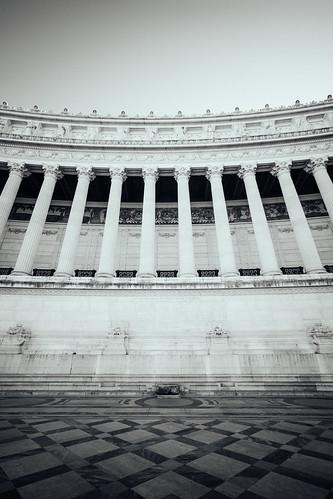 """Image titled """"Altare della Patria, Rome. (B&W)"""""""