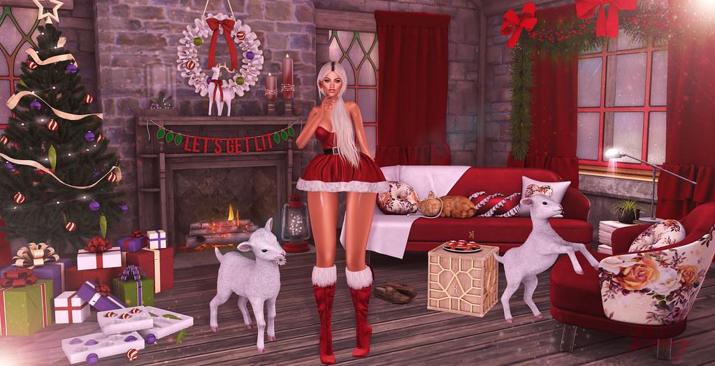 Christmas Is All Around.Christmas Is All Around Credits Here Roxxypink