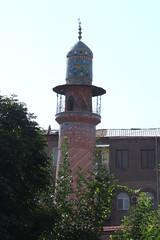 Minaret of Blue Mosque, 04.09.2013.