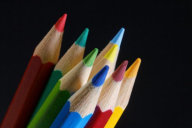 Farbstifte  /  Coloured pencils