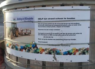 Samen met de milieujutter maken we de wadden weer schoon! | by ritzotencate