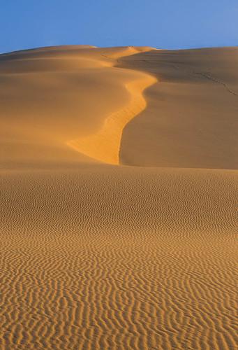 newsouthwales australia au nsw stockton beach sand sandune dune sky sunrise dawn yellow blue