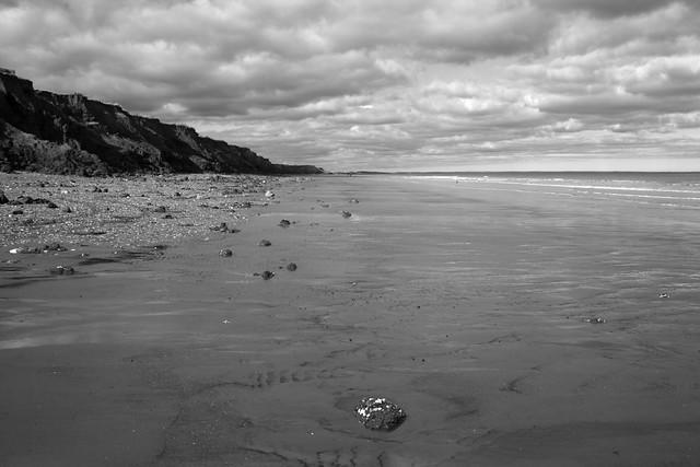 The beach near Great Cowden, Yorkshire