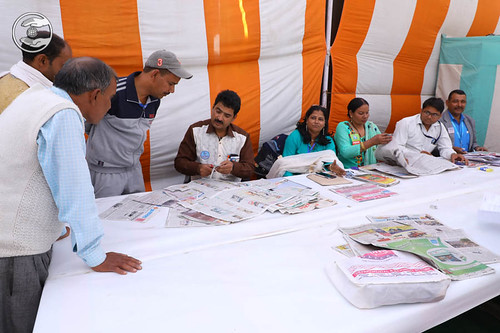 Devotees rendering Sewa in different Camps during Samagam