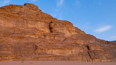 Rocks in the Wadi Rum desert