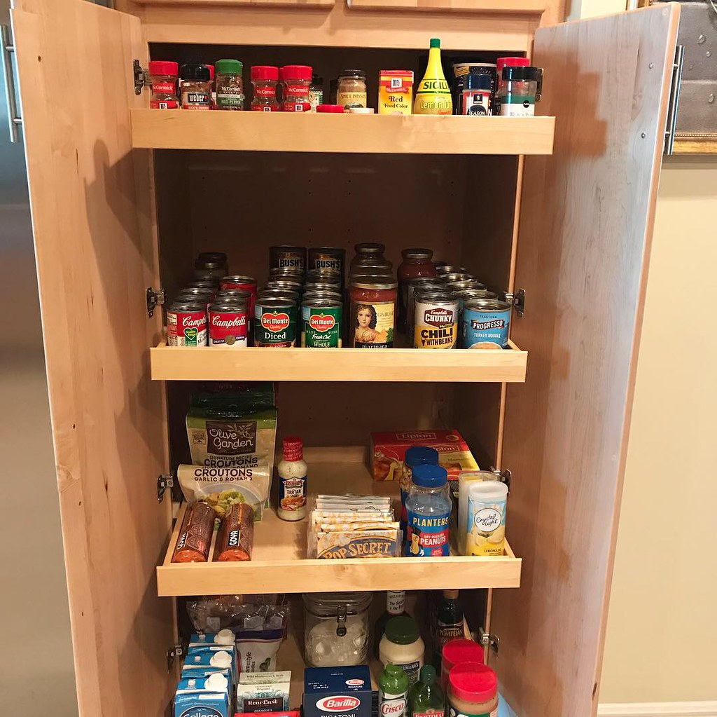 Pantry makeover • before pics on FB