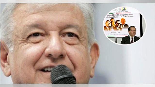 VIDEO: Con una llamada AMLO resuelve petición de suplentes del ISSSTE