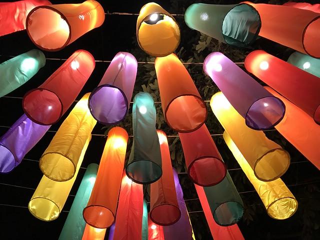 Colourful lanterns (Chiang Mai, Thailand 2018)