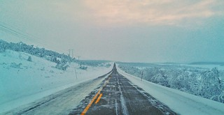 Driving towards Kautokeino | by Per Ivar Somby