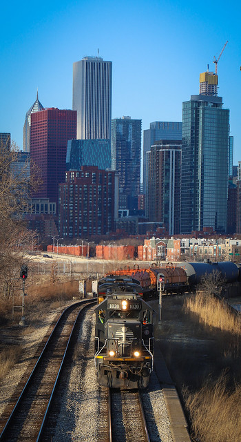 Illinois Central in Chi-Town