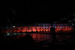 La Moneda iluminada por el Dia Mundial de la Esclerosis Multiple