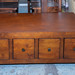Dark wood coffee table E125