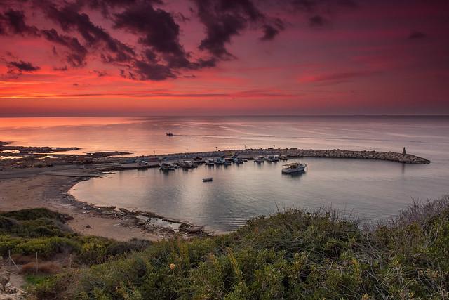 Agios Georgios Harbour ..