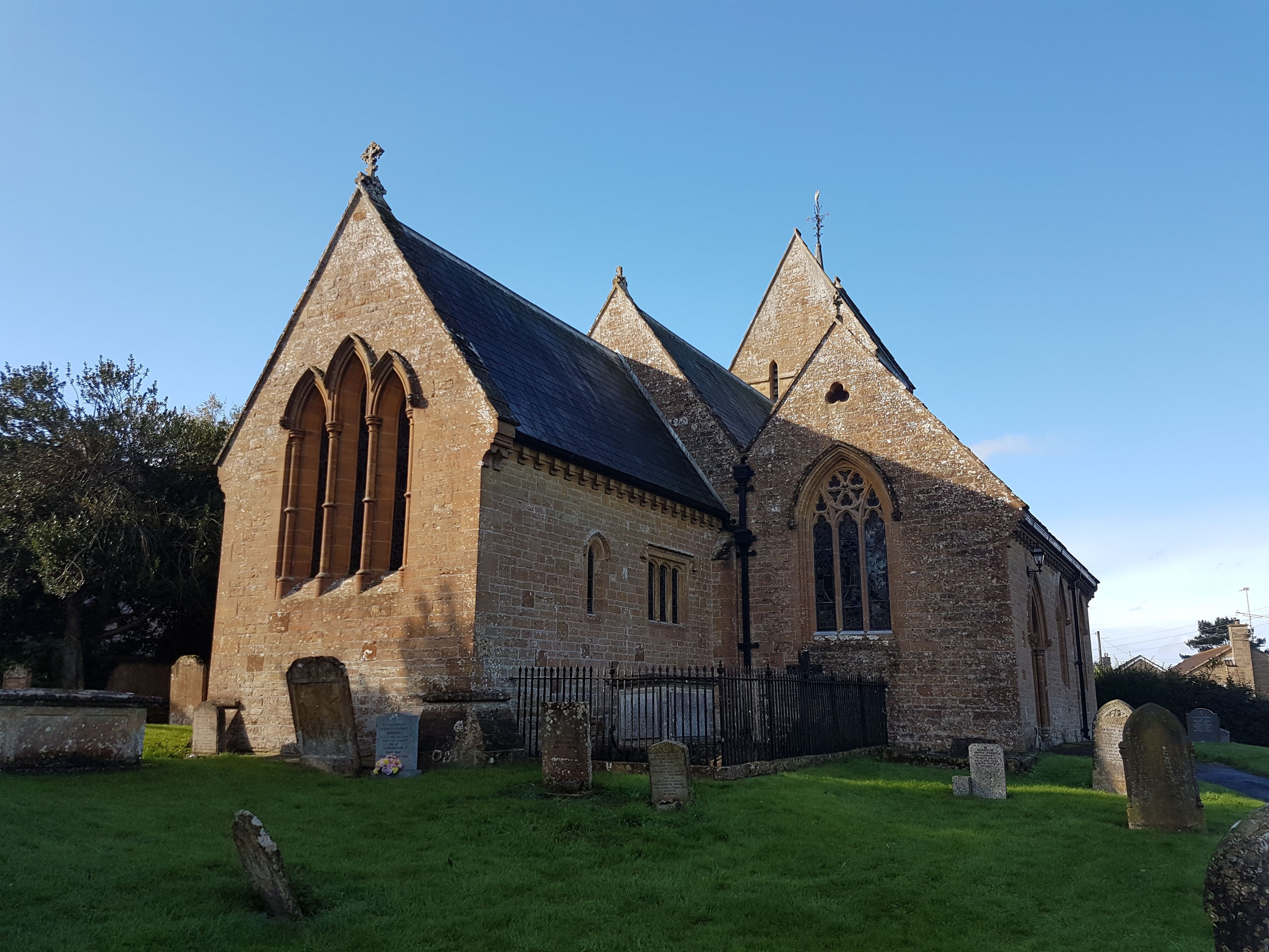 St Mary the Virgin, West Chinnock, Somerset