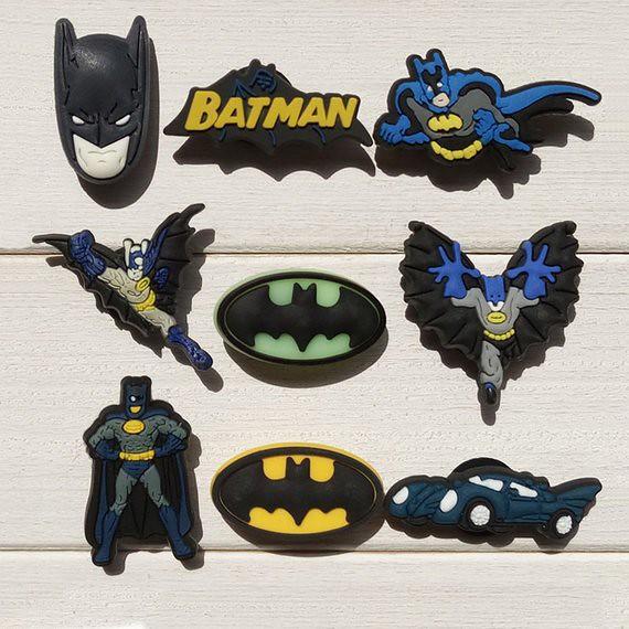 Batman PVC Shoe Charms for