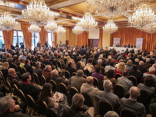 13.1.2019, Ιωάννινα: Παρουσίαση βιβλίου Ευ. Βενιζέλου «Η Δημοκρατία μεταξύ συγκυρίας και Ιστορίας»